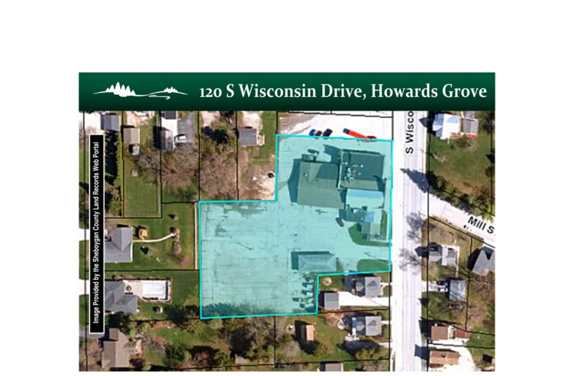 Howards Grove Commercial Property 120 S Wisconsin Drive